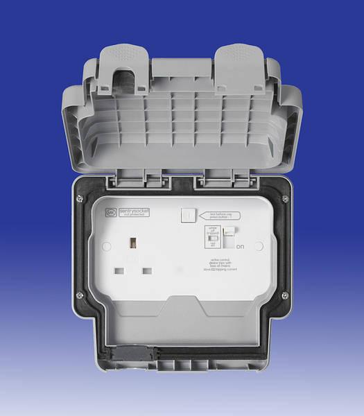 Masterseal Plus 30ma Rcd Socket - Ip66