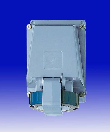 240v 16 Amp 3 Pin Mk Commando Socket Blue Ip67
