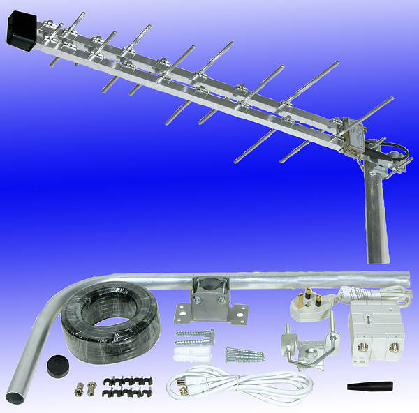 Megaboost Compact Digital Tv Aerial Kit