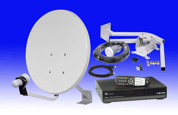 skyline high definition  hd  free to air satellite dish kit
