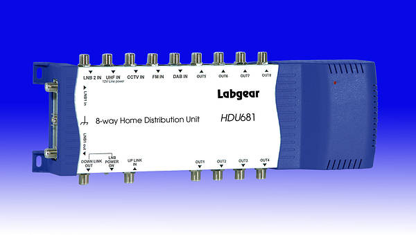 8 way loft distribution and amplifier