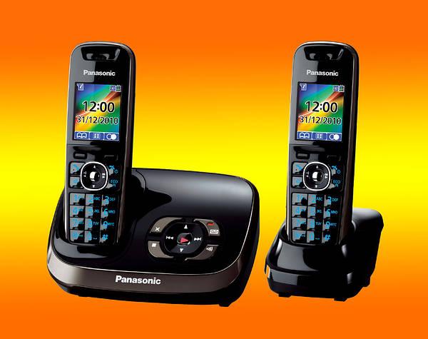 Panasonic KXTG8522EB Cordless Dect Phone + TAM - Twin Pack
