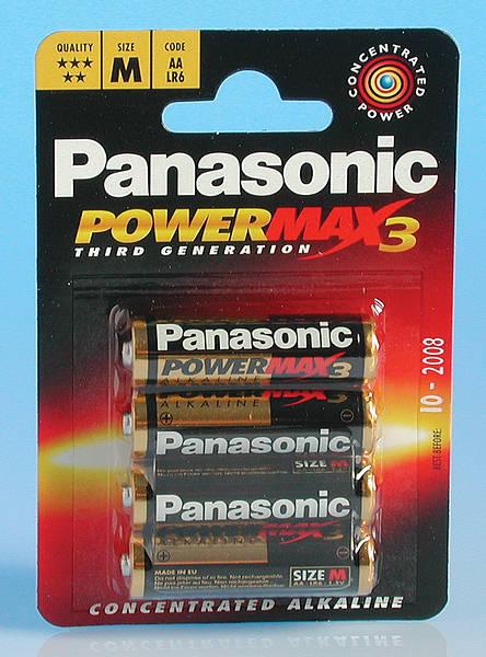 Lr6 Aa Mn1500 Alkaline Batteries Pack Of 4