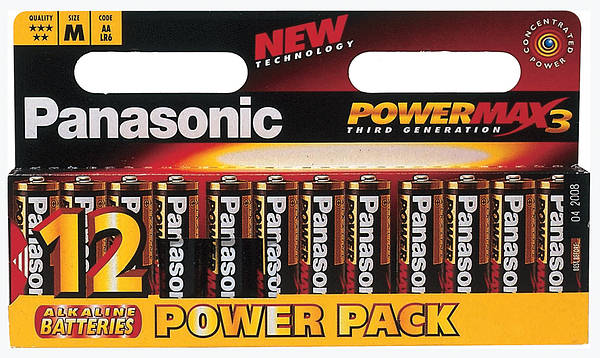 Panasonic Alkaline Batteries