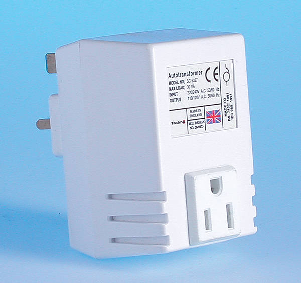 Uk 240v To Usa 110volt Step Down Transformer 50va