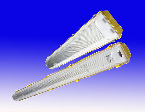 Weatherproof Fluorescent Fittings 110v