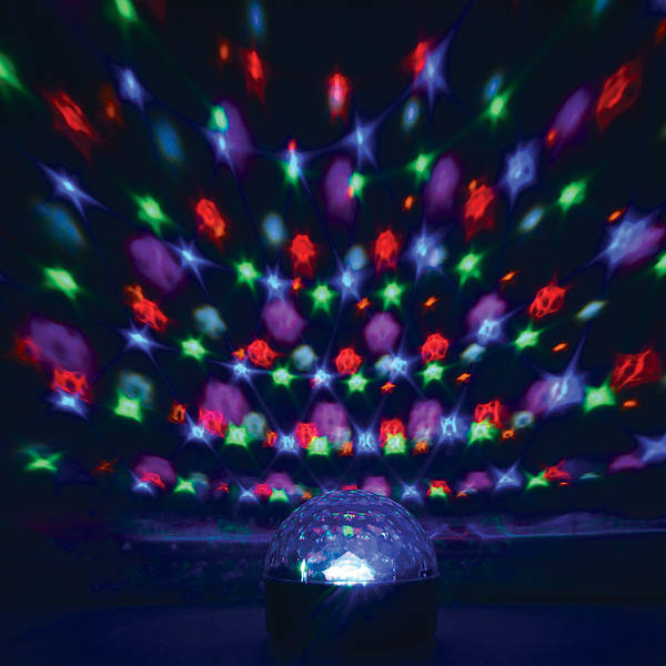Disco Party Light Sound To Light Amp Mirror Balls