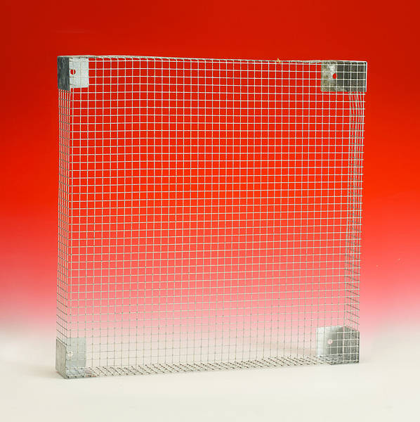 250mm Sq Wire Guard for Plate Axial Fans