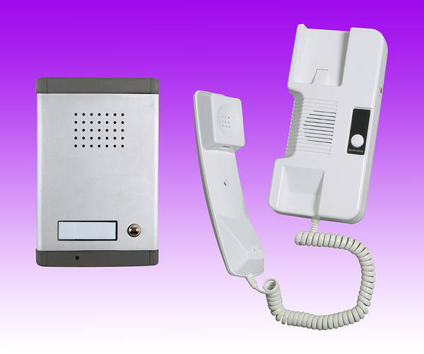 1 Station Audio Door Entry Phone And Intercom 2 Wire