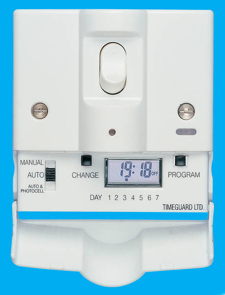 24 hour 7 day security light switch product photo description timeguard aloadofball Choice Image