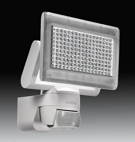 steinel xled home sensor floodlight white. Black Bedroom Furniture Sets. Home Design Ideas