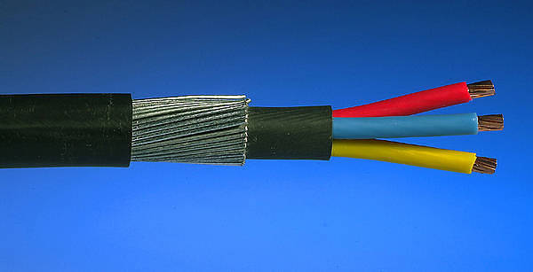 10 0mm 178 6943x 3 Core Swa Steel Armoured Cable