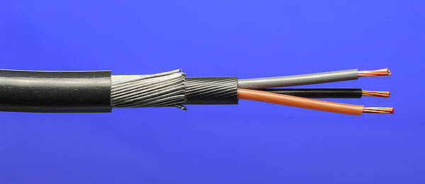 Enjoyable 2 5Mm2 6943X 3 Core Swa Steel Armoured Cable Wiring Digital Resources Funapmognl