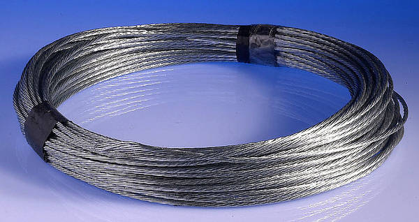 Catenary Wire 3mm 100m Coils Galvanised