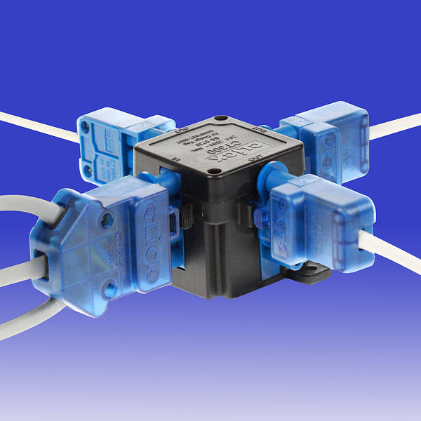 20a 4 Pin 1 In 3 Out Flow Hub Junction Box