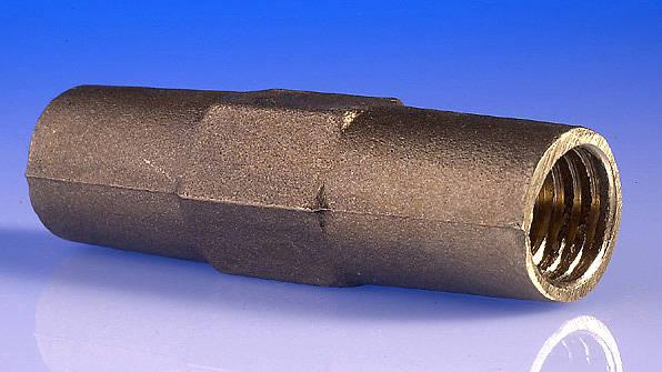 "14mm ( 5/8"" ) Earth Rod Coupler"