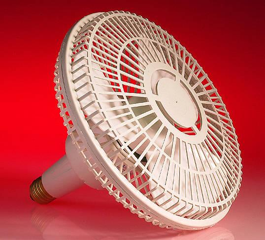 8 Inch Es Light Fitting Fan