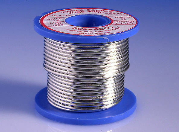 Reel 100 Amp Tinned Copper Fuse Wire 14 Swg