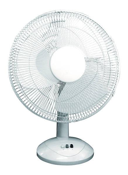 Desk Fan Dimensions : Inch oscillating desk fan speed