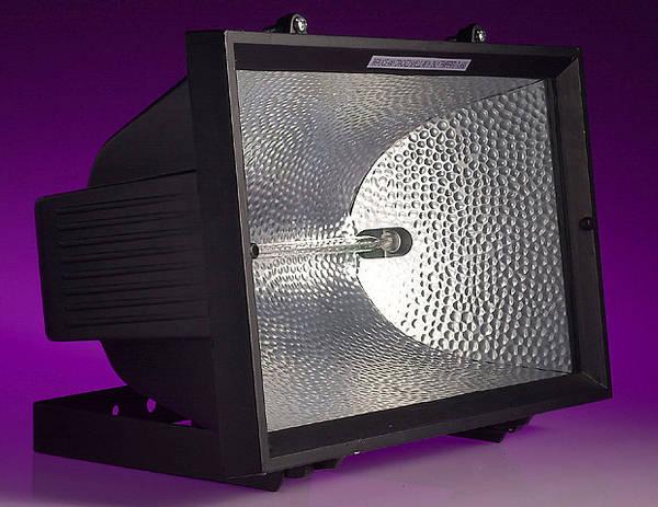 1500w Enclosed Halogen Floodlight Ip54 Black