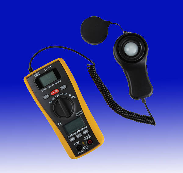 Digital Irradiance Meter C W Dmm