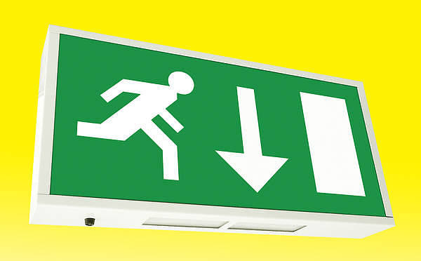Wonderful The Exit Light Company Emergency Exit Sign Led Lighting Lights . The Exit  Light Company ... Good Ideas