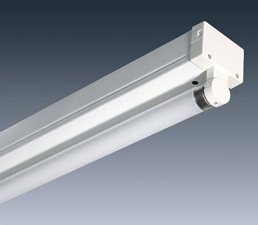 6ft 70w Fluorescent Fitting With Tube C W 3 Hour Emergency