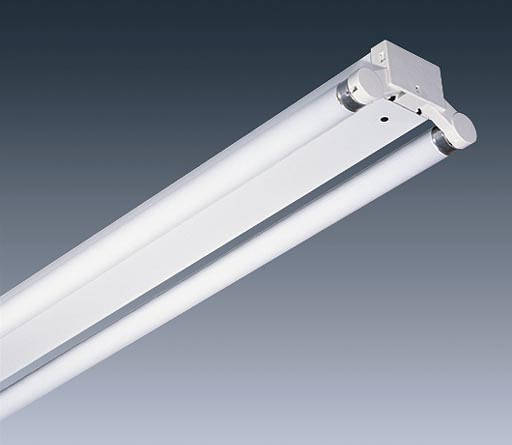 5ft twin 58w fluorescent fitting with tubes c w 3 hour emergency. Black Bedroom Furniture Sets. Home Design Ideas