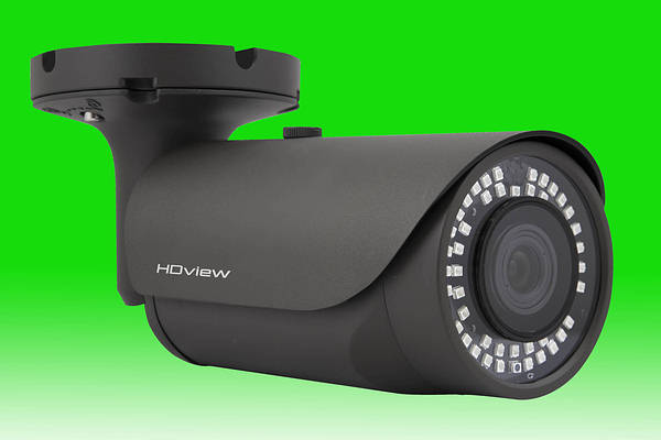 5-50mm 1080P SHD 4MP Bullet Camera Dark Grey c/w 50m IR LED