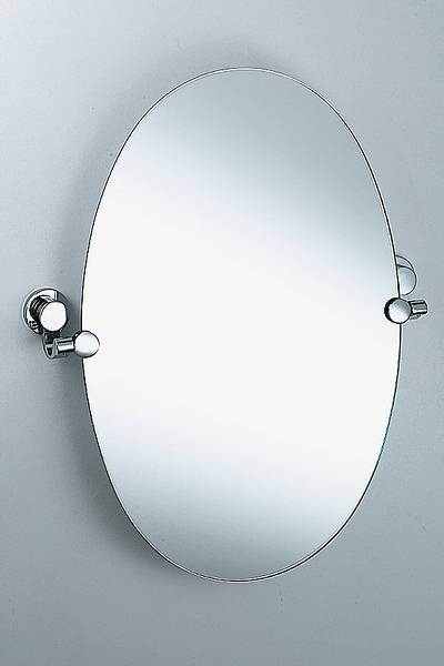 Nene 18 Swivel Bathroom Mirror In Chrome
