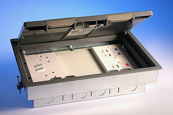 3 Compartment Cavity Floor Box