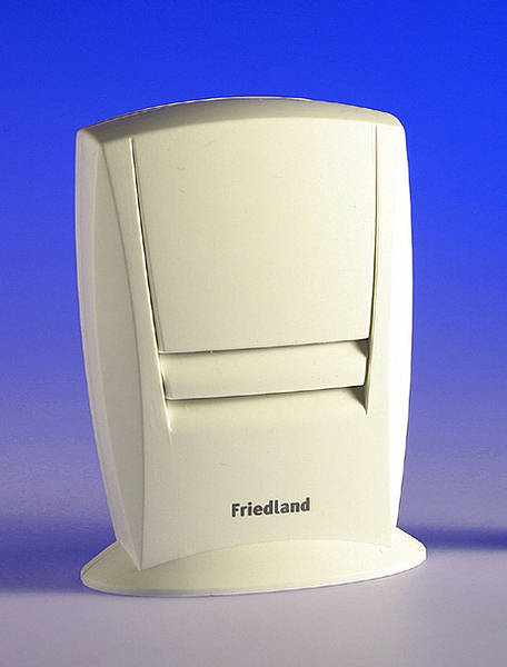 Evo 200 Wirefree Additional Door Chime Only White