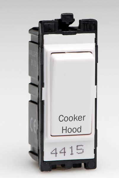 Uk Grid Finder >> 20 Amp DP Grid Switch - White - Cooker Hood
