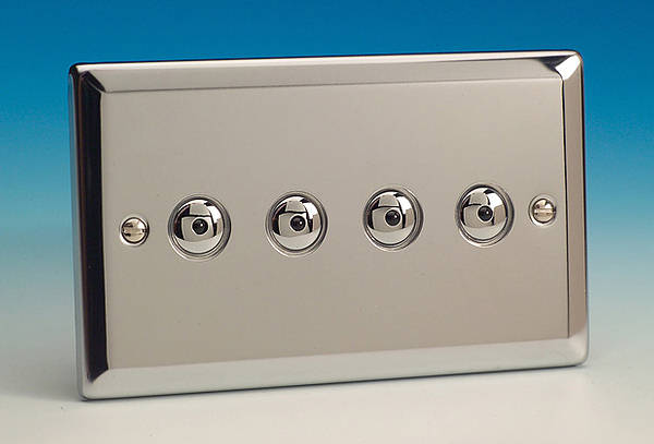 4 Gang 2 Way 250w Iq Master Remote Touch Dimmer Switch