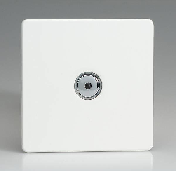 Single Dimmer Switch - White - Homebase