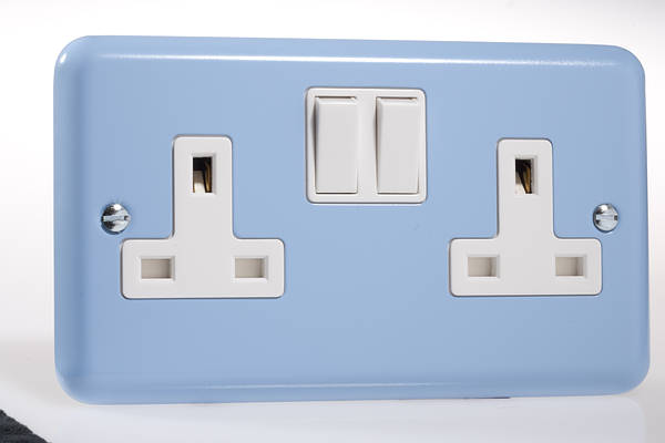 13 Amp 2 Gang Twin Dp Switched Socket