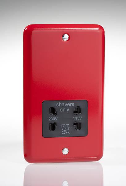 Dual Voltage Shaver Socket 115  230v