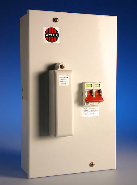 Wylex 100 Amp Sp Amp N Switchfuses