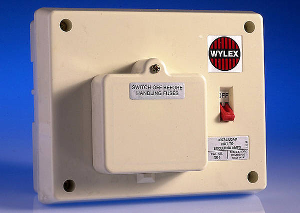 Fuse Box Rcd Switch : Way insulated consumer unit amp switch