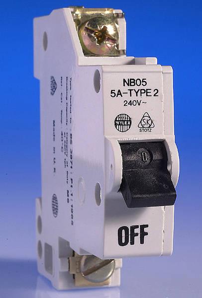 5 Amp Wylex Mcb For Old Nn Consumer Unit