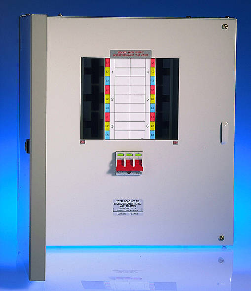 6 Way 125 Amp Tp U0026n Distribution Board