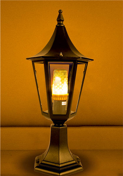 Upamp; Esfor Led Flame Downward Effect Lanterns Lamp fY76gvby