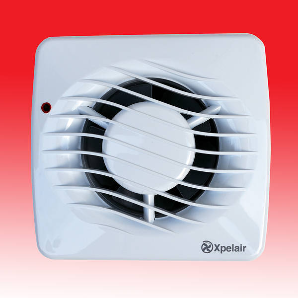 Xpelair DX100HP Extractor Fan With Humidistat & Pull Cord